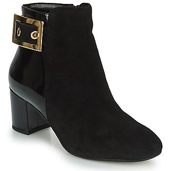 Schuhe Damen Low Boots André ESSRA Schwarz