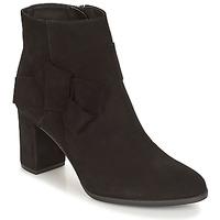 Schuhe Damen Low Boots André LEONOR Schwarz