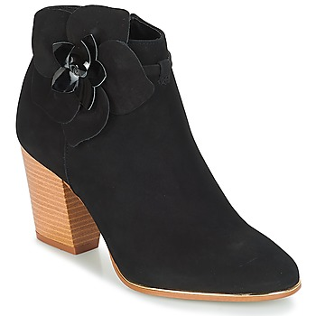 Schuhe Damen Low Boots André HEVA Schwarz