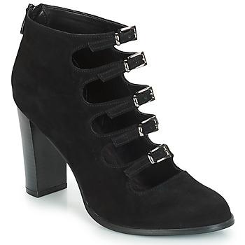 Schuhe Damen Boots André GAYA Schwarz