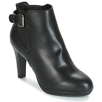 Schuhe Damen Low Boots André RACHEL Schwarz