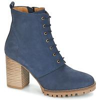 Schuhe Damen Low Boots André ROVER Marine