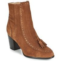 Schuhe Damen Low Boots André DORIANE Camel