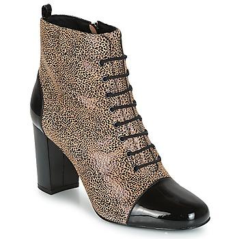 Schuhe Damen Low Boots André CONGA Beige