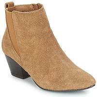 Schuhe Damen Low Boots André CALIMITY Beige