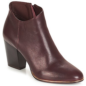 Schuhe Damen Low Boots André RIKA Bordeaux