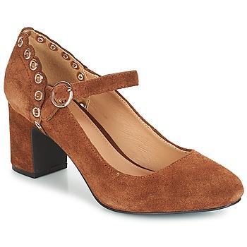 Schuhe Damen Pumps André ALDA Camel