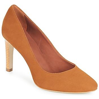 Schuhe Damen Pumps André MANUELA Camel