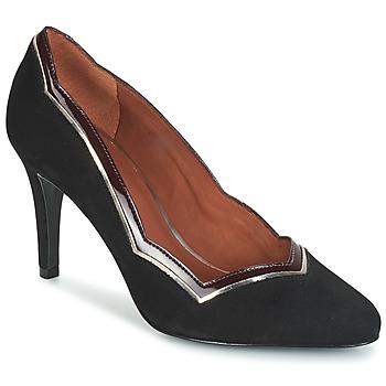 Schuhe Damen Pumps André PIERA Schwarz