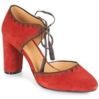 Schuhe Damen Pumps André ALLEGRA Rot