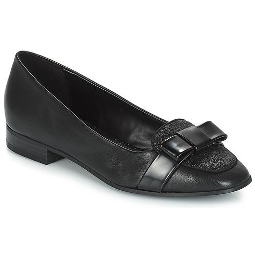Schuhe Damen Slipper André ANNALISA Schwarz
