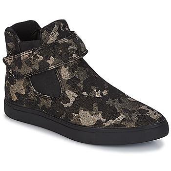 Schuhe Damen Sneaker High André SKATE Schwarz