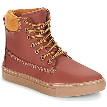 Schuhe Damen Boots André HUSSARD Braun
