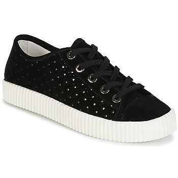 Schuhe Damen Sneaker Low André STARLIGHT Schwarz