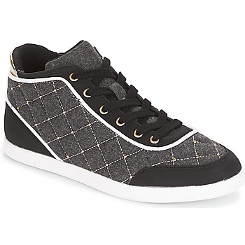 Schuhe Damen Sneaker High André KINGDOM Grau