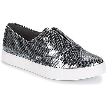 Schuhe Damen Slip on André COSMIQUE Silbern