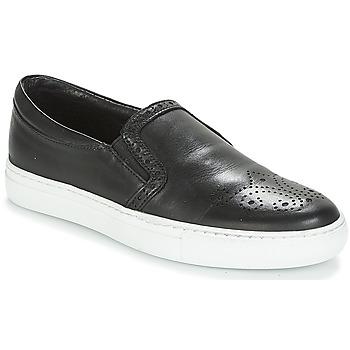 Schuhe Damen Slip on André ASTRIDA Schwarz