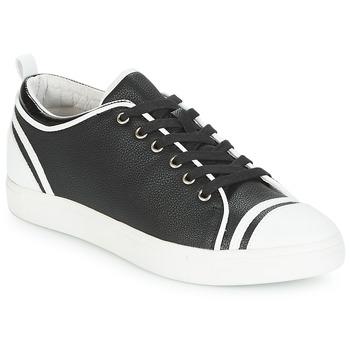 Schuhe Damen Sneaker Low André LEANE Schwarz / Weiss
