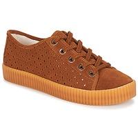 Schuhe Damen Sneaker Low André STARLIGHT Braun
