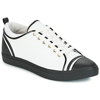 Schuhe Damen Sneaker Low André LEANE Weiss
