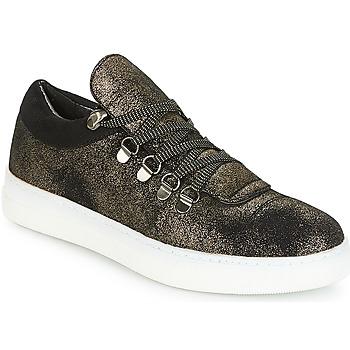 Schuhe Damen Sneaker Low André ALPINE Schwarz