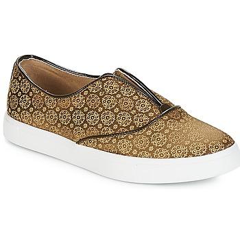 Schuhe Damen Slip on André ROYAUME Kaki