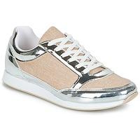 Schuhe Damen Sneaker Low André SAFARI Silbern