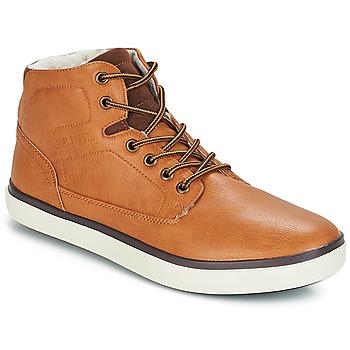 Schuhe Herren Sneaker High André QUARTER Camel