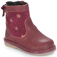Schuhe Mädchen Boots André PARME Bordeaux