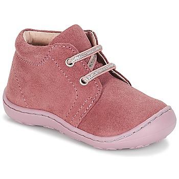 Schuhe Mädchen Boots André PALE Rose