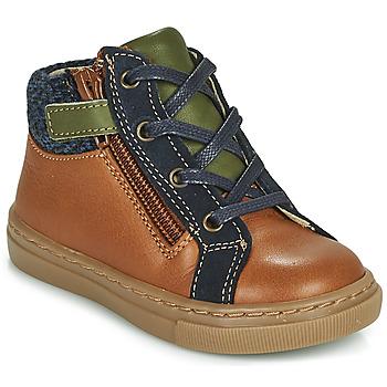 Schuhe Jungen Boots André CORBEAU Braun
