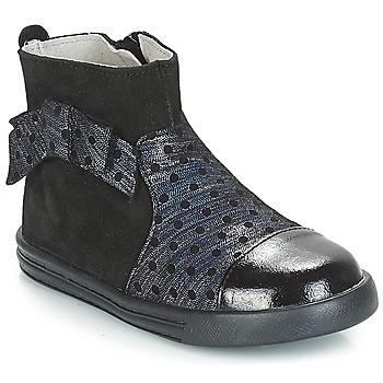 Schuhe Mädchen Boots André NUIT Schwarz