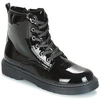 Schuhe Mädchen Boots André ROCKABILLY Schwarz