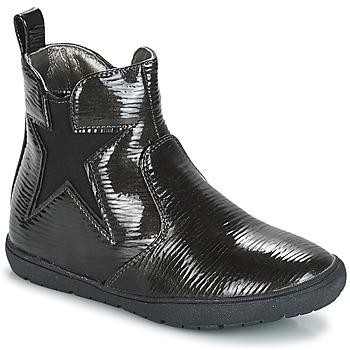Schuhe Mädchen Boots André FURY Schwarz