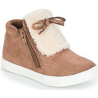 Schuhe Mädchen Boots André MOUFLON Beige