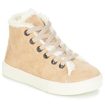 Schuhe Mädchen Sneaker High André TRICOT Beige