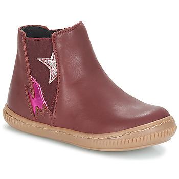 Schuhe Mädchen Boots André MAGENTA Bordeaux