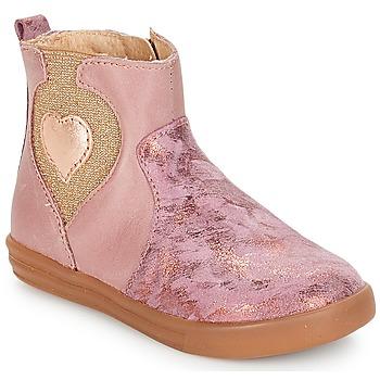 Schuhe Mädchen Boots André MAUVE Rose