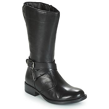 Schuhe Mädchen Klassische Stiefel André HIVER Schwarz