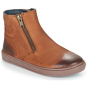 Schuhe Jungen Boots André CUMIN Braun