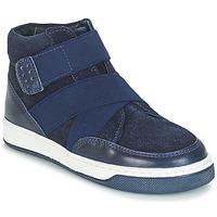 Schuhe Jungen Boots André CUBE Marine