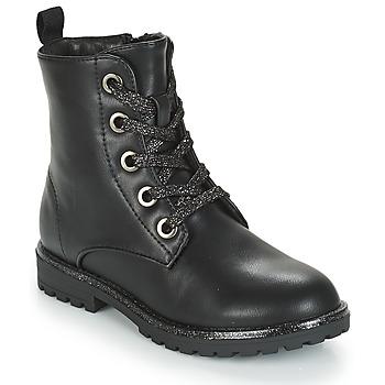 Schuhe Mädchen Boots André CLAPTON Schwarz