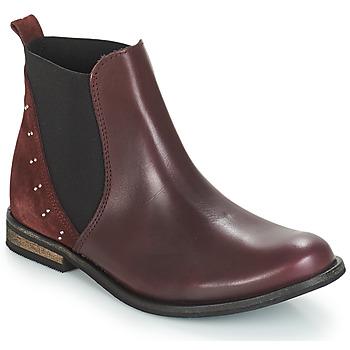 Schuhe Mädchen Boots André MUSCADE Bordeaux