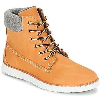 Schuhe Jungen Boots André TROTTEUR Gelb