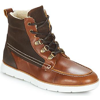 Schuhe Jungen Boots André GLOBE Braun