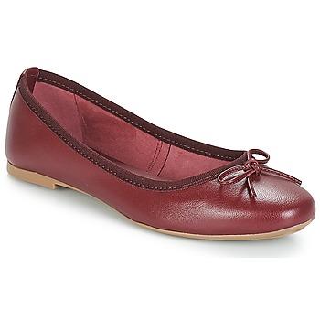 Schuhe Damen Ballerinas André PIETRA Bordeaux