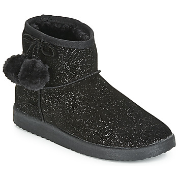 Schuhe Damen Boots André TOUCHOU Schwarz