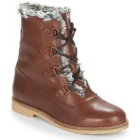 Schuhe Damen Boots André CHAMONIX Braun