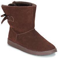 Schuhe Damen Boots André TOUDOU Braun