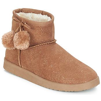 Schuhe Damen Boots André TOUCHOU Braun